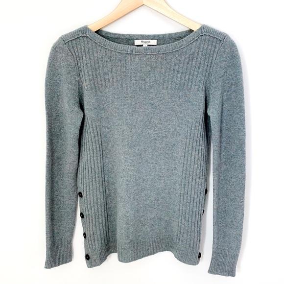 Madewell Jade Colour Sweater 100% Merino Wool